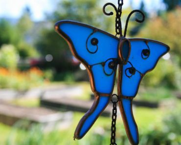Handmade Stained Glass Butterflies