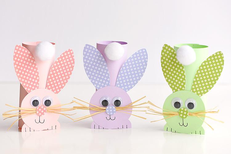 toilet paper troll rabbit craft