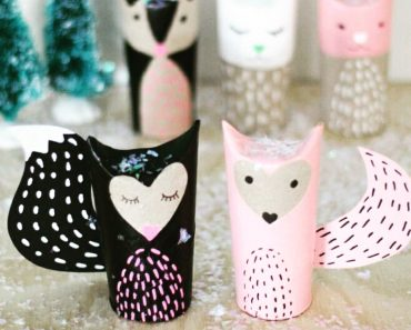 toilet roll fox craft